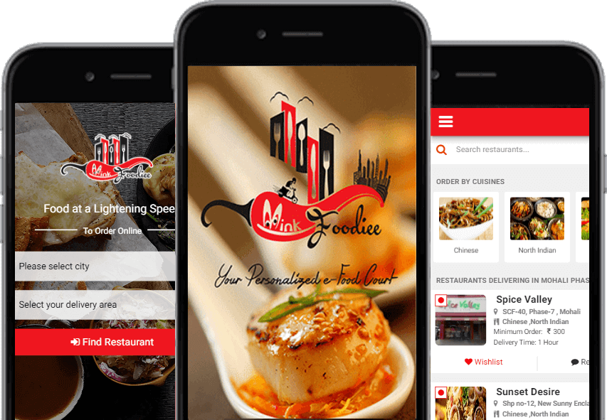 Mink Foodiee app